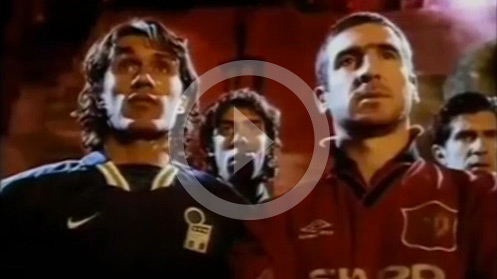 Pub Nike - Eric Cantona - Olympica Sports Management
