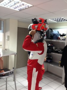 Fabien Barthez Blancpain GT Tour 2
